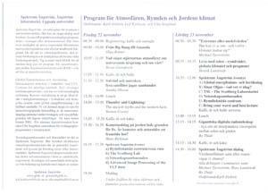 Detaljerat program